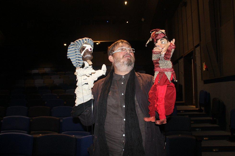 Kašpárek byl hlavním hrdinou první premiéry nové sezony v plzeňské Divadle Alfa.