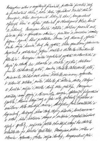 Rukopis Karla Šidla