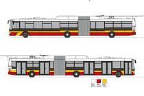 Trolejbus 31 Tr z plzeňské společnosti Škoda Electric, který zamíří do Hradce Králové