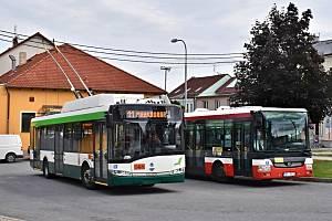 Do Radčic, Malesic a Křimic budou od září jezdit nově bateriové trolejbusy.