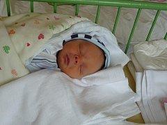 Viktor (2,85 kg, 49 cm) se narodil 6. února ve 14:59 v Mulačově nemocnici v Plzni. Na světě ho přivítali rodiče Lenka a Jakub Hajšmanovi z Plzně. Doma se na brášku těší Vašík (2,5)