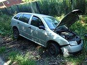 Dopravní nehoda u obce Řenče na jižním Plzeňsku.