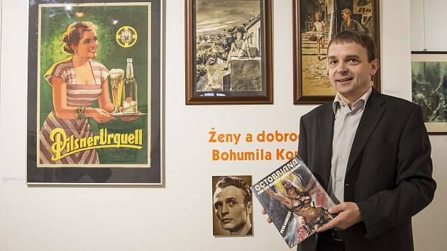 Výstava Ženy a dobrodružství Bohumila Konečného je k vidění v Galerii Jiřího Trnky do 19. ledna.