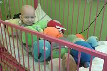 Bojovník Honzík v nemocnici