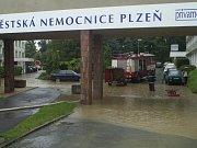 12. srpna 2002 - Plzeň, městská nemocnice Privamed