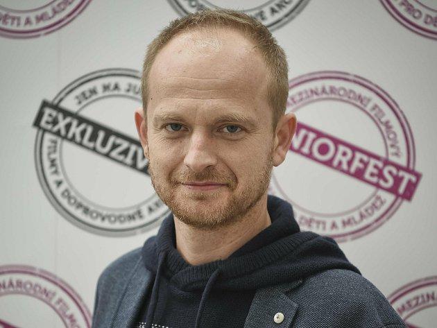 Michal Šašek, ředitel Juniorfestu, festivalu filmů pro děti a mládež.