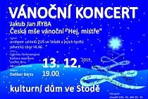 Vánoční koncert Stod