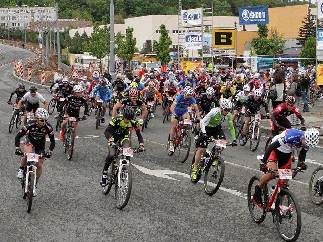 11. ročník plzeňského Škoda Bike marathonu.