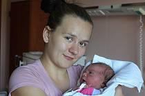 Veronika Peštová se narodila 20. srpna ve 13:18 mamince Blance a tatínkovi Peterovi z Rokycan. Po příchodu na svět ve FN Plzeň vážila sestra Kubíka 3320 gramů a měřila 49 cm.