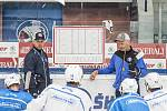 HC Škoda Plzeň - trénink na ledě v nové sezóně