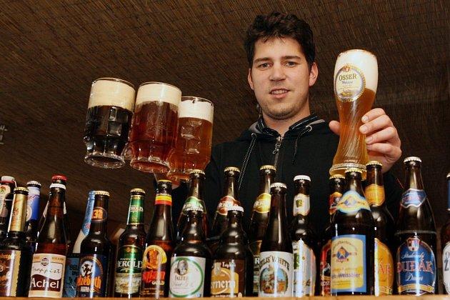 Petr Strnad vKlubu malých pivovarů.