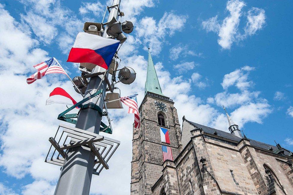 Slavnosti svobody v Plzni v roce 2020.