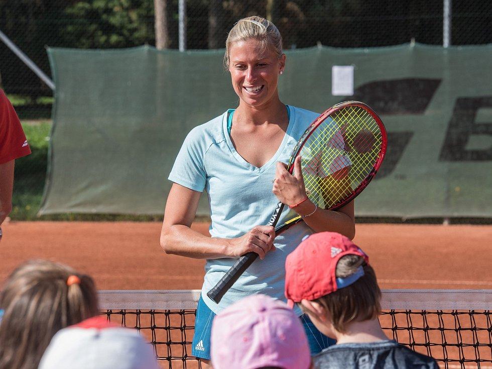 Andrea Sestini Hlaváčková trénovala děti
