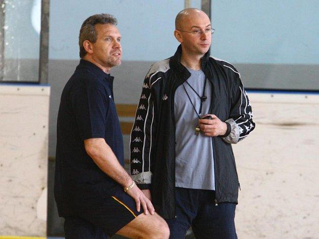 Pavel Hynek (vpravo) a Milan Razým