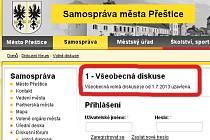 Všeobecnou volnou diskusi zastupitelé Přeštic zrušili kvůli vlně anonymních vulgárních příspěvků
