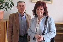 Jitka Prokšová a Karel Gruber