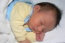 Martin Pavlík (3,23 kg, 49 cm) je prvorozený syn maminky Gabriely a tatínka Milana zChválenic. Narodil se 3. dubna v7:34 hod. ve FN vPlzni