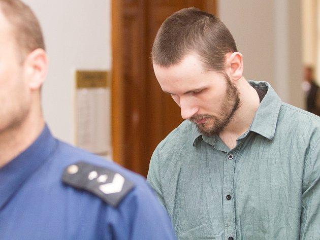 Jan Silovský v pátek u soudu.