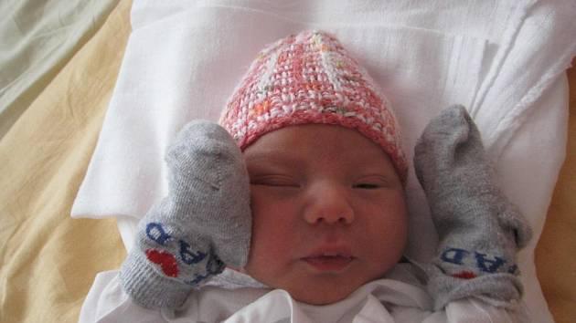 Tobiáš (3,55 kg, 52 cm) se narodil 6. listopadu ve 4:28 v plzeňské fakultní nemocnici. Na světě svého prvorozeného syna přivítali rodiče Jiřina a David Míkovi z Bdeněvsi