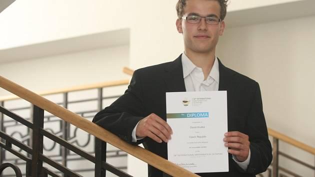 Plzeňan David Hruška je matematickým talentem, koncem července reprezentoval Českou republiku v Kolumbii