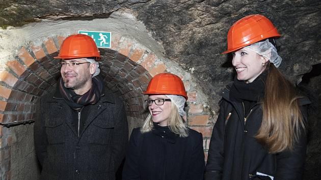 Otevření zrekonstruovaného podzemí.