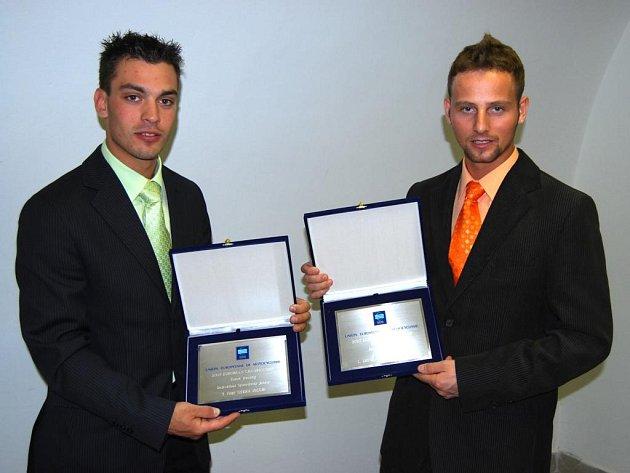 Filip Šitera (vlevo) a Zdeněk Simota