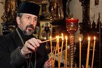 V kostele sv. Anny se v úterý konala bohoslužba pravoslavných