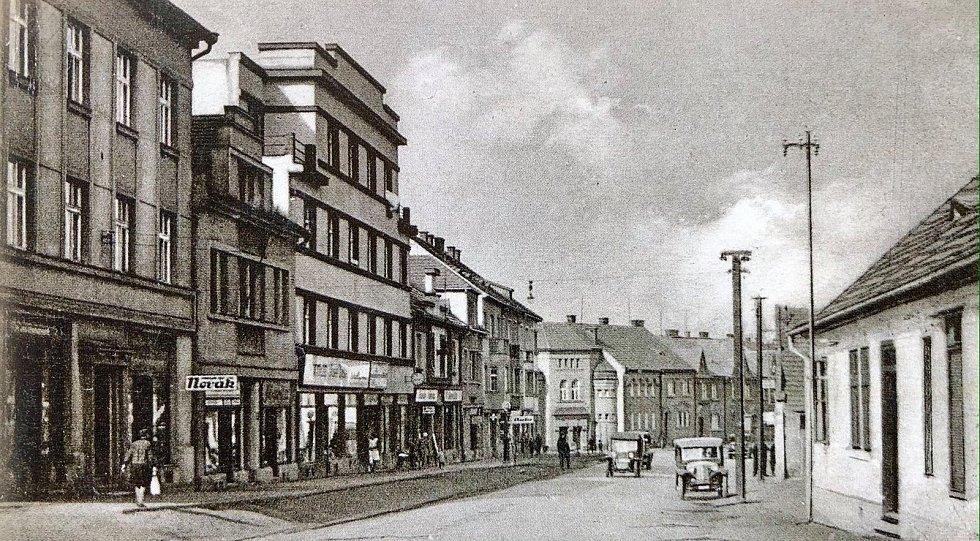 Zábělská ulice.