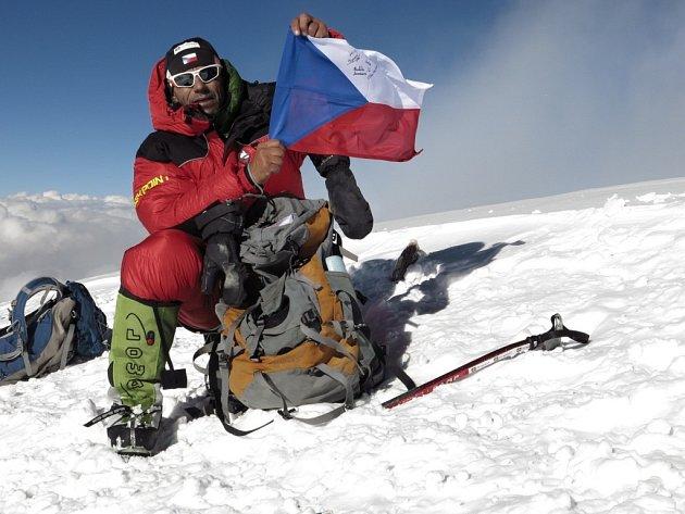 Radek Jaroš loni zdolal druhou nejvyšší horu světa K2, ve středu    4. března o tom bude vyprávět v Měšťanské besedě.