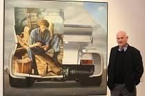 Výstava obrazů Theodora Pištěka v galerii města Plzně