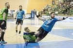 Extraliga házené - 3.finále Talent Plzeň - Baník Karviná.