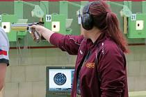 Sportovní střelbě se Helena Klailová (na snímku) věnuje už šest let.