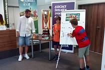 Losování fotbalového McDonald's cupu v Plzni