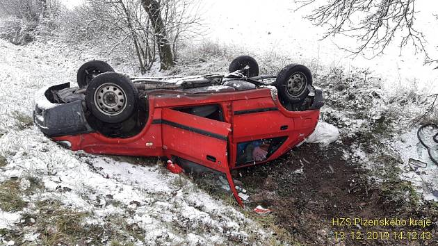Nehoda ve Stodě