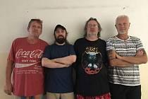 Skupina Przeň, zleva Richard Vlček, Karel Englmaier, Vladimír Sochací, Roman Tolja Krajdl.