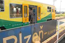 Po jedenáctidenní nepřetržité výluce mohou cestující opět jezdit směrem n Nepomuk vlakem
