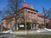 Průvodci šifrovací hry Plzeň za první republiky (zleva): Václav Reithmaier, Rufina Bázlová a Zdeněk Lomička