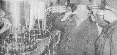 """Pravda, sobota 2. prosince, 1967. """"Tak aby jela nová stáčecí kolona bez závad..."""""""