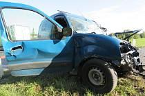 Dopravní nehoda u Litic.