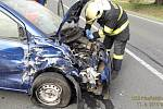 Z místa nehody u Stříbra