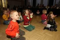 Děti v doubraveckém D klubu oslavily silvestra v předstihu