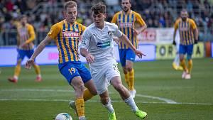 Záložník Pavel Bucha nastoupil v neděli v české lize poprvé v dresu plzeňské Viktorie.