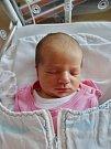 Olívie Zelinková se narodila 29. května ve 2:59 mamince Ivě a tatínkovi Lukášovi z Plzně. Po příchodu na svět v plzeňské FN vážila sestřička tříleté Emílie 3330 gramů a měřila 49 centimetrů.