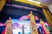 Vietnamská oslava nového roku v Plzni.