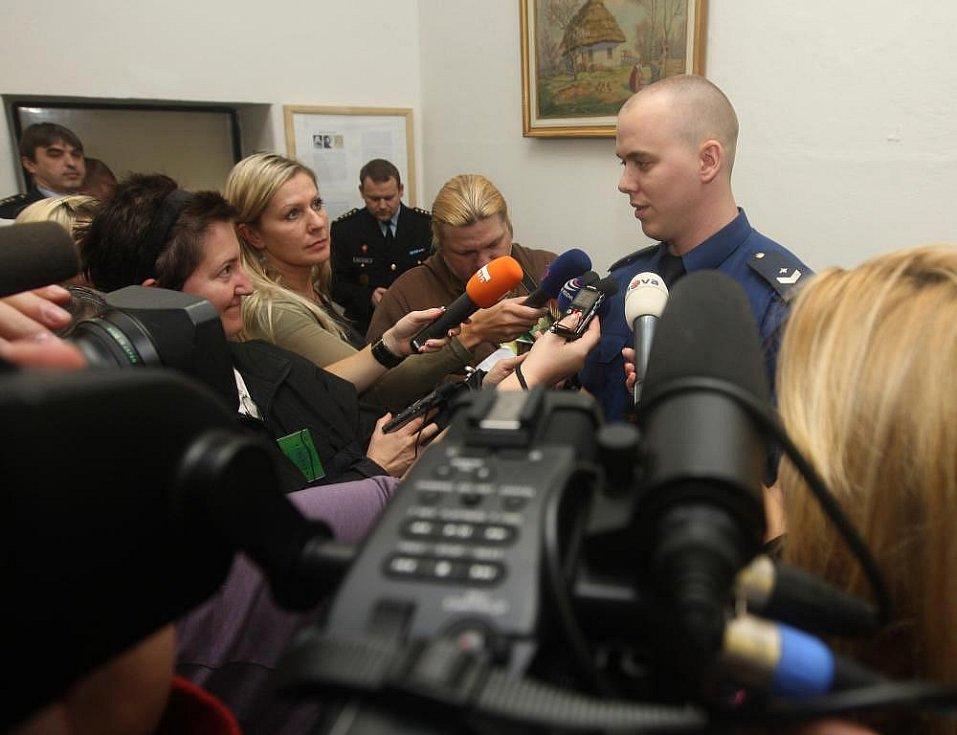 Ocenění příslušníku vězeňské služby v plzeňské borské věznici