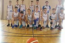 Tým BK Lokomotiva Plzeň U11