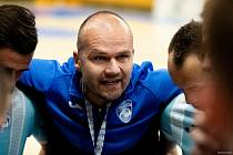 Trenér futsalistů Interobal Plzeň Marek Kopecký.