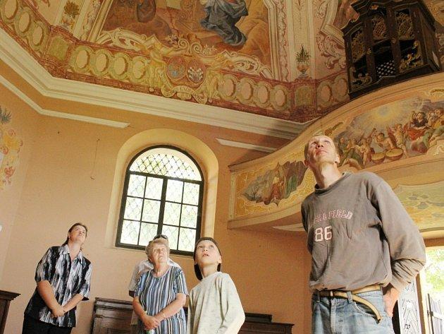Kaple sv. Diviše v Hracholuskách