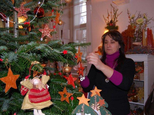 Vánoční atmosféru  nabídla v sobotu a neděli tradiční  výstava keramiky a ozdob návštěvníkům plaského kláštera
