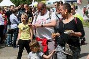 Bosch Fresh Festival přilákal během slunečného víkendu tisícovky návštěvníků.